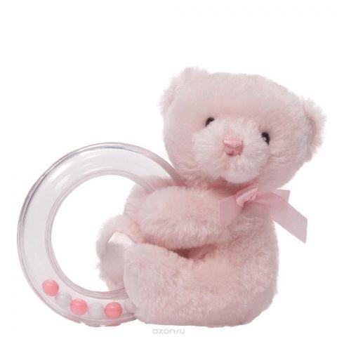 Gund Погремушка My First Teddy Rattle Pink