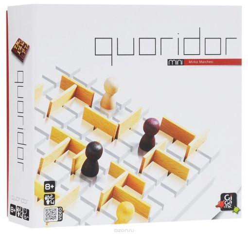 Gigamic Настольная игра Quoridor Mini
