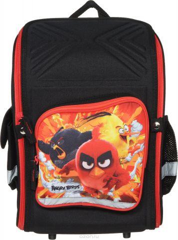 Angry Birds Ранец школьный цвет черный красный