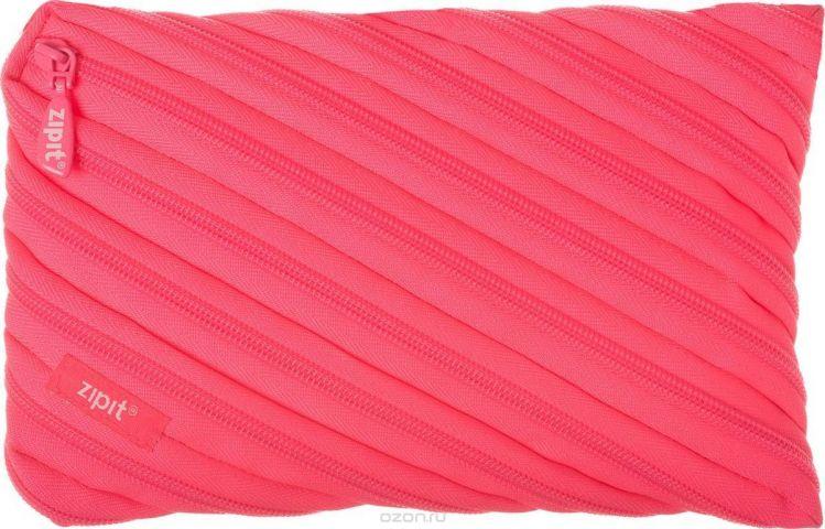 Zipit Пенал Neon Jumbo Pouch цвет розовый