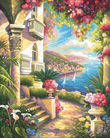 Schipper Картина по номерам Дом у моря