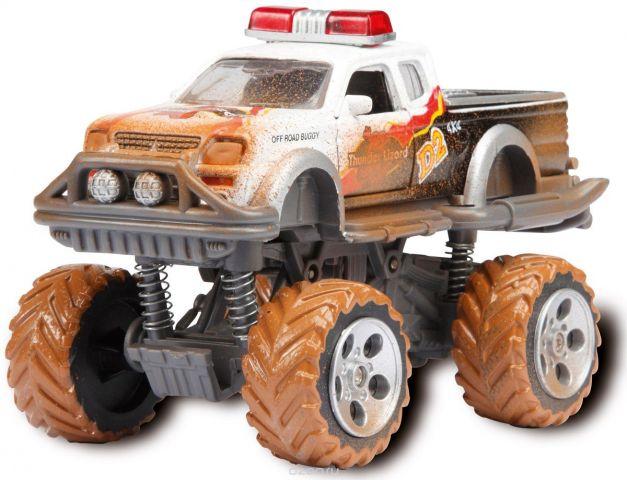 Dickie Toys Внедорожник Rally Monster цвет белый
