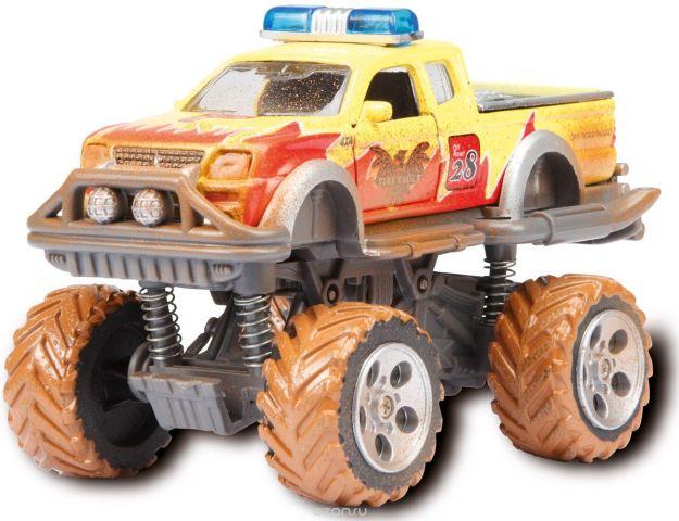 Dickie Toys Внедорожник Rally Monster цвет желтый