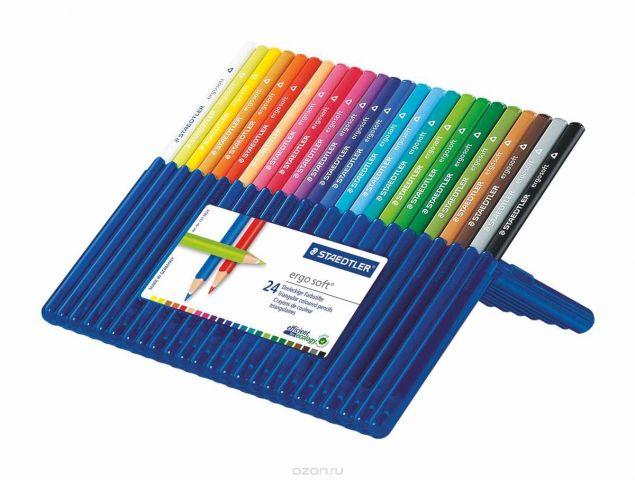 Staedtler Набор цветных карандашей Ergosoft 157 24 цвета