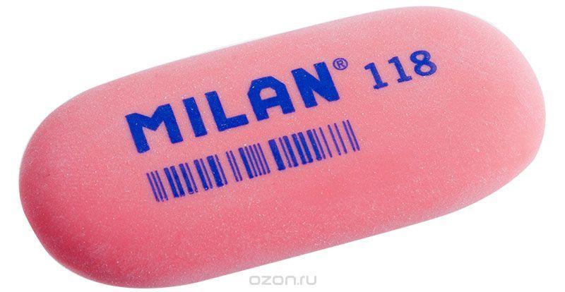 Milan Ластик 118 цвет красный