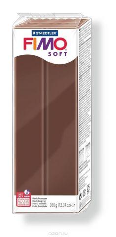 """Глина полимерная Fimo """"Soft"""", цвет: шоколад, 350 г"""