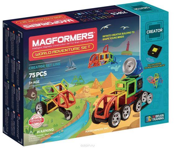 Magformers Магнитный конструктор World Adventure Set