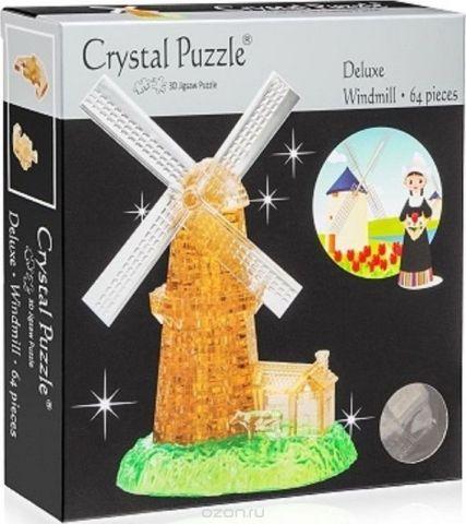 Crystal Puzzle 3D головоломка Мельница