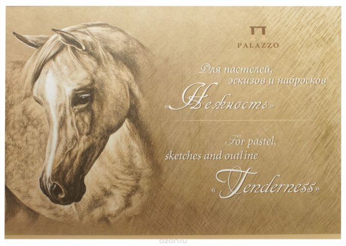 Palazzo Планшет для пастелей эскизов и набросков Нежность 20 листов формат A3