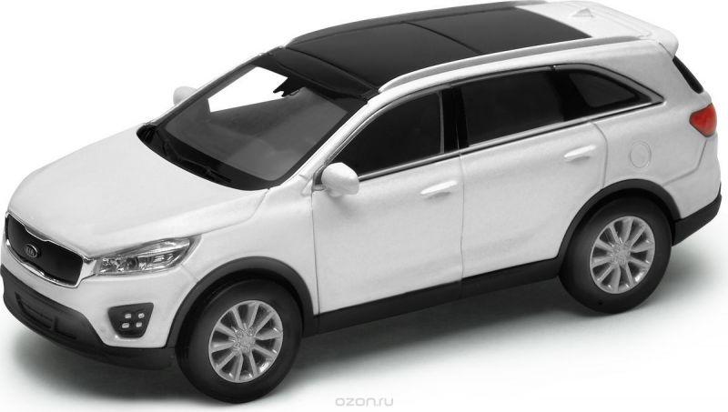 Welly Модель автомобиля Kia Sorento цвет белый