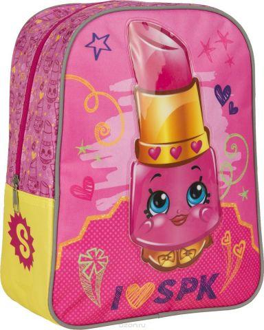 Shopkins Рюкзак дошкольный Шопкинс Помадка цвет розовый