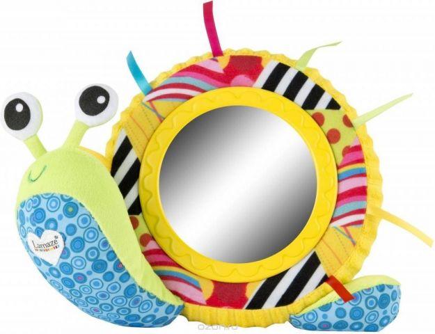 Lamaze Развивающая игрушка Улитка Мишель с зеркальцем