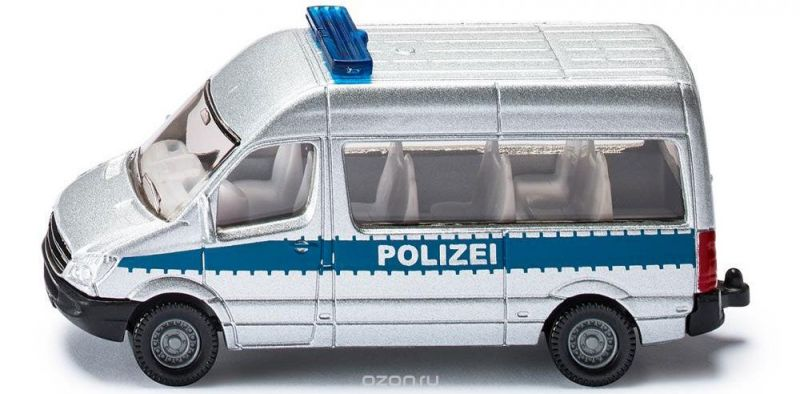 Siku Полицейский фургон