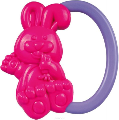 Canpol Babies Погремушка Кролик цвет розовый