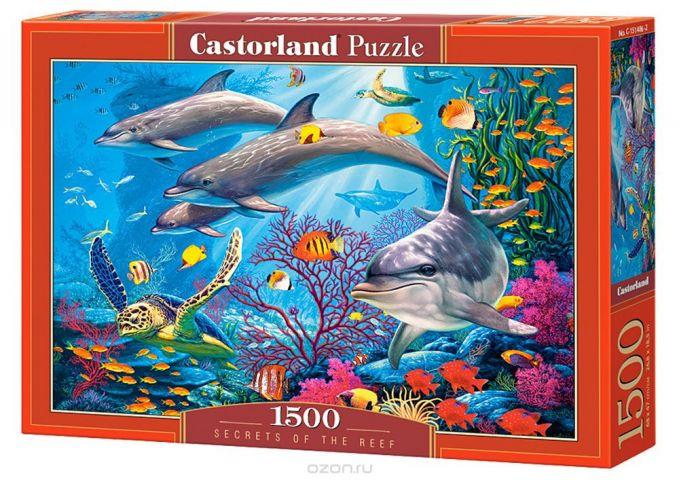 Castorland Пазл Секреты рифа