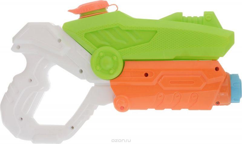 TopToys Водный бластер цвет светло-зеленый белый оранжевый