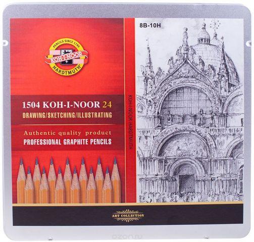 Koh-I-Noor Набор чернографитных карандашей 24 шт