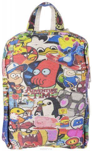 Рюкзак для девочек Almed Mult, цвет: светло-бежевый