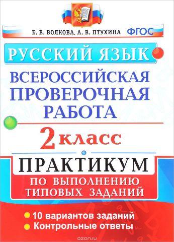 Русский язык. 2 класс. Практикум по выполнению типовых заданий