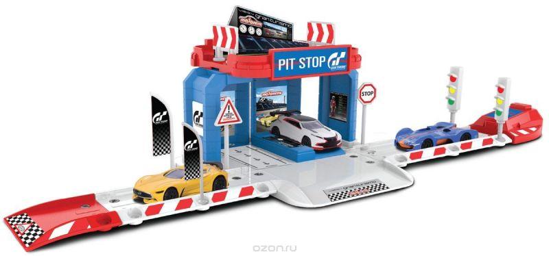Majorette Парковка Creatix Gran Turismo с машинкой