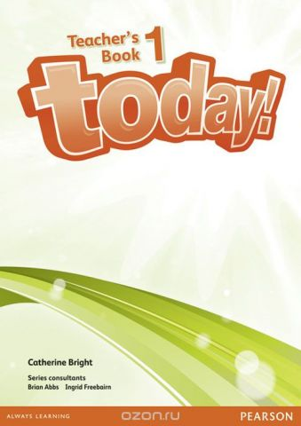 Today! 1 Teachers' Book and etext (Cd-Rom)