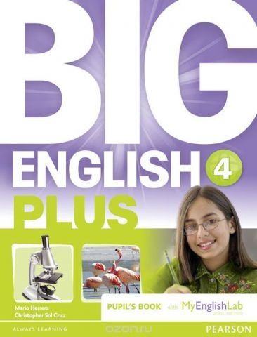 Big English Plus 4 Pupil's Book with Myenglishlab Access Code Pack
