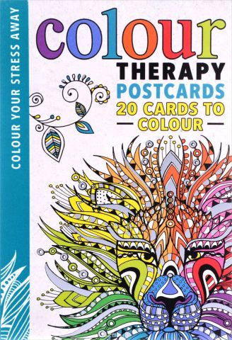 Colour Therapy: Postcards 20 Cards to Colour