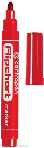 Centropen Маркер для флипчарта цвет красный 8550/1К