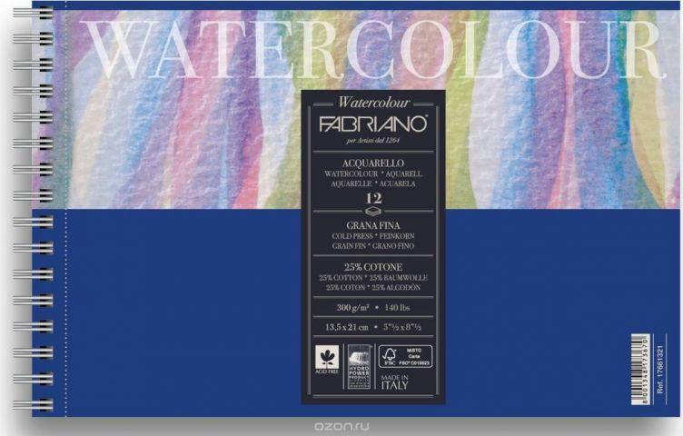 Fabriano Альбом для акварели Watercolour Studio 12 листов 17661321
