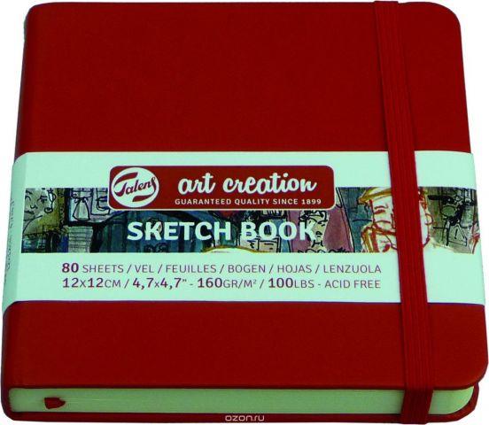 Royal Talens Блокнот для зарисовок Art Creation цвет красный 80 листов 9314204M