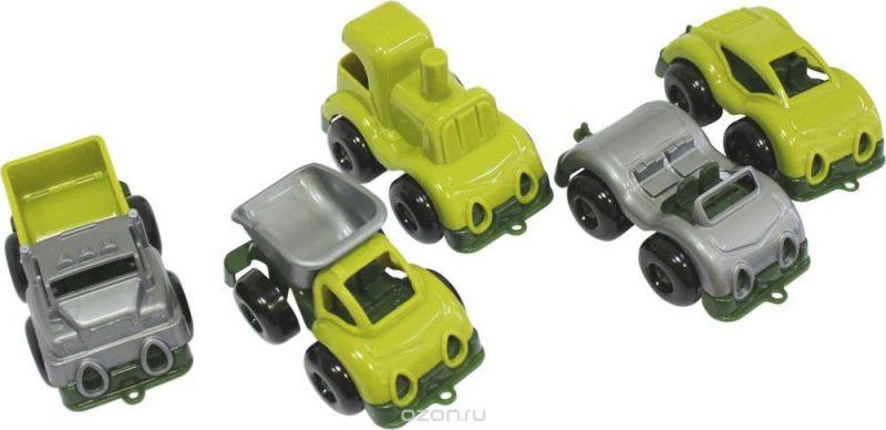 Пластмастер Набор машинок Малютка военный