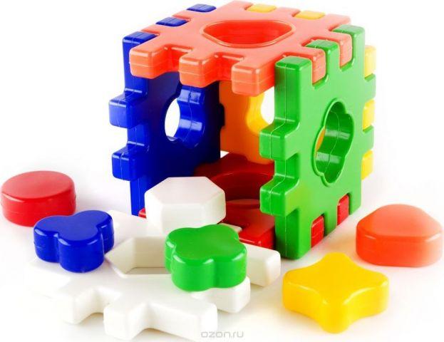 Пластмастер Сортер Логический Куб