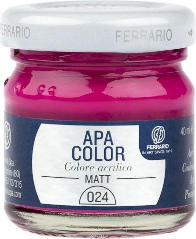 Ferrario Краска акриловая Apa Color цвет пурпурный