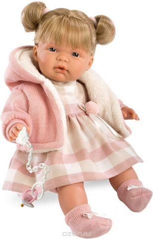 Llorens Кукла Люсия цвет наряда розовый