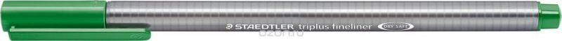 Staedtler Ручка капиллярная Triplus 334 0,3 мм цвет чернил зеленая трава