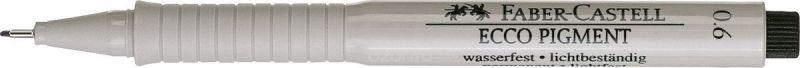 Faber-Castell Ручка капиллярная Ecco Pigment 0,6 мм цвет чернил черный