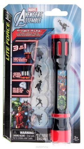 Marvel Фонарик-проектор 3 в 1 Avengers