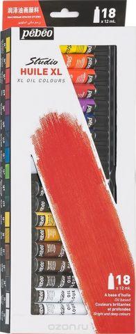 Pebeo Краска масляная набор XL 18 цветов 668110 12 мл