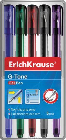 Erich Krause Набор гелевых ручек G-Tone 5 шт 39002