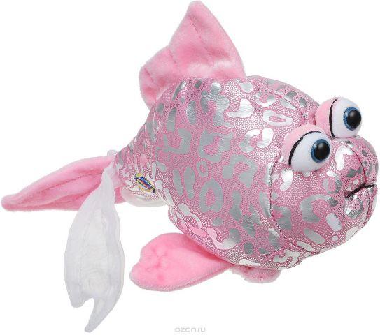 Lilkinz Мягкая игрушка Розовая рыбка 10 см