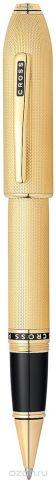 Cross Ручка-роллер Selectip Peerless 125 цвет корпуса золотистый