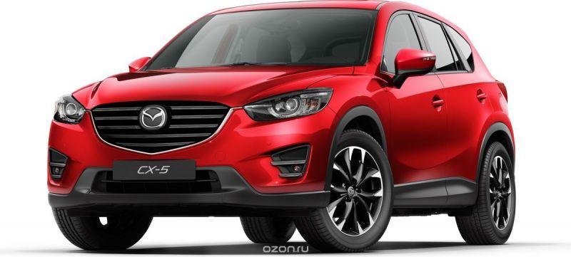 Welly Модель автомобиля Mazda CX-5 цвет красный