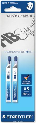 Staedtler Грифель для карандаша HB soft 0,5 мм 2 упаковки по 12 шт