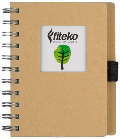 Fiteko Тетрадь 80 листов цвет светло-коричневый RPT-05