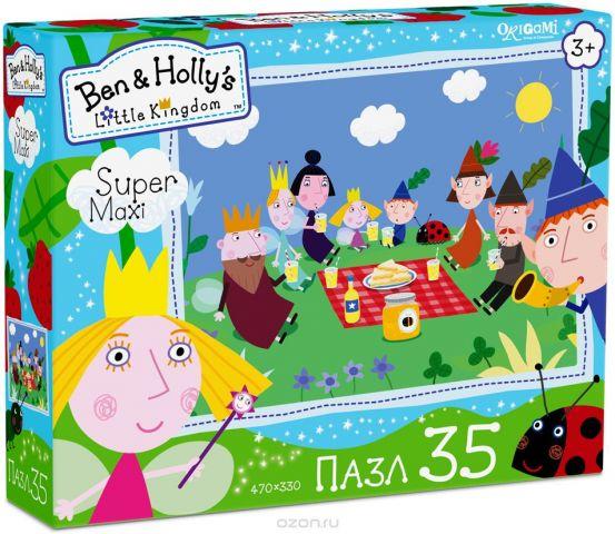 Ben&Holly Пазл для малышей Пикник