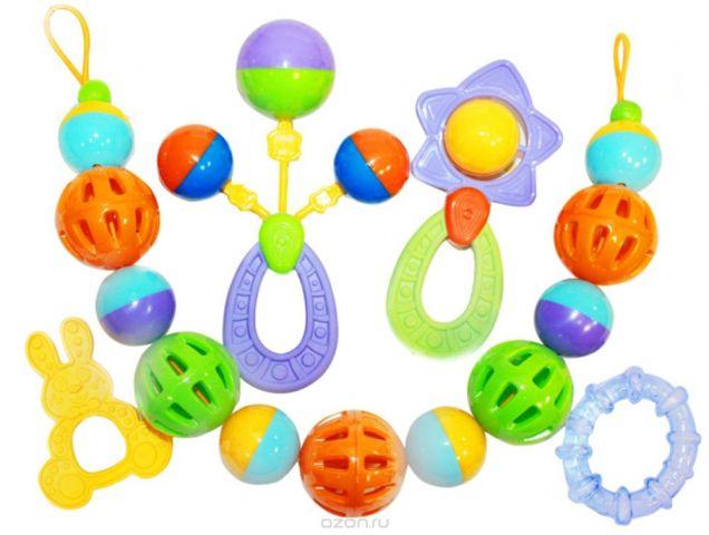 Пластмастер Набор погремушек для малышей