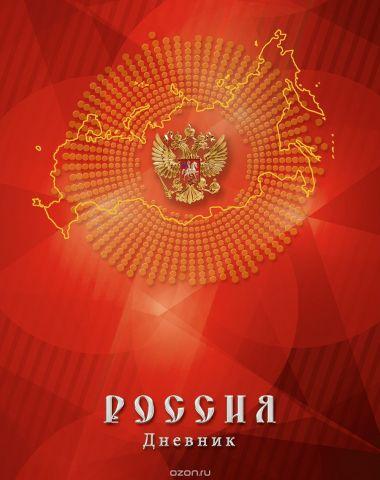 Апплика Дневник школьный Российская символика-22