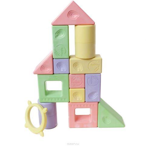 People Развивающая игрушка Премиум- набор кубиков Мотти