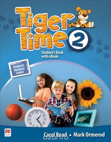 Tiger Time Level 2 Student Book + eBook Pack
