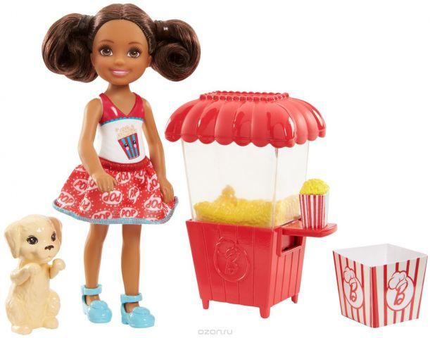 Barbie Игровой набор с куклой Челси и щенок
